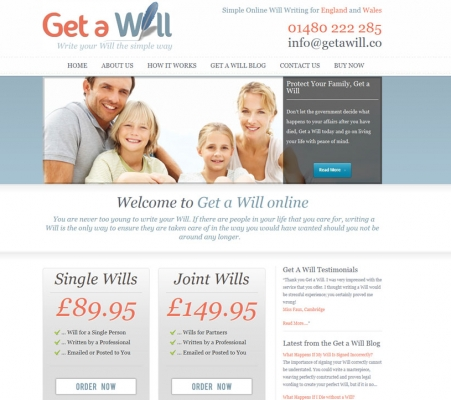 GET A WILL by BOLTON WEB DESIGNERS