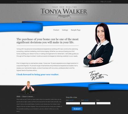 TONYA WALKER by REKLAWDESIGN